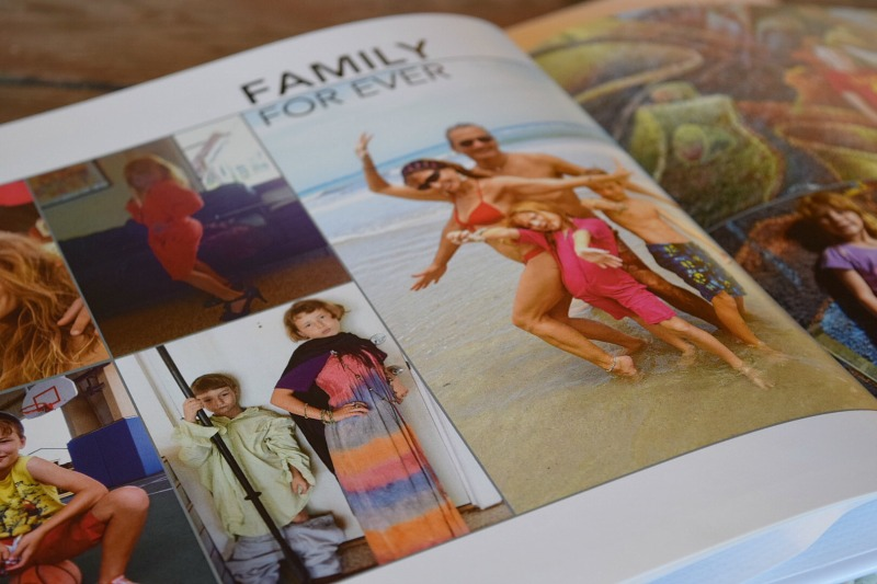 The busy mom´s way to make a family photo album