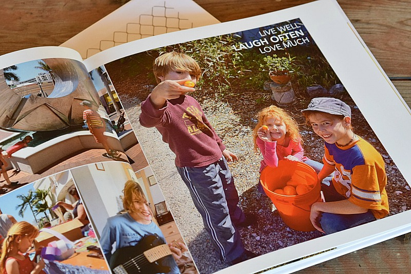 The busy mom´s solution for making a family photo book