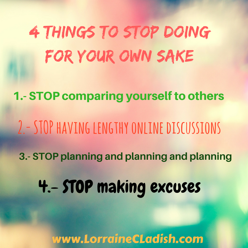 4 Things you should stop doing
