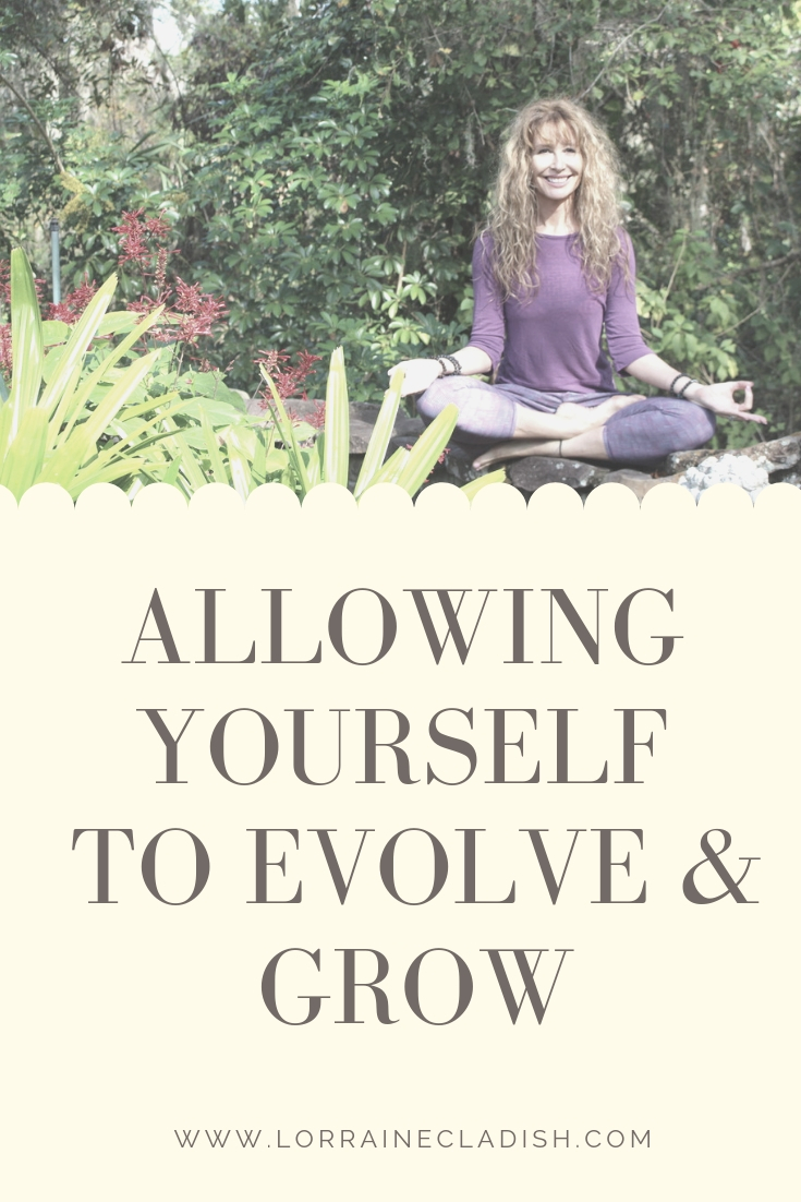 It's important to learn to allow yourself to grow and evolve in life and business. If you are in the exact same place you were a few years ago, and you feel stagnant, it's time for a change. #success #empowerment #business #yoga