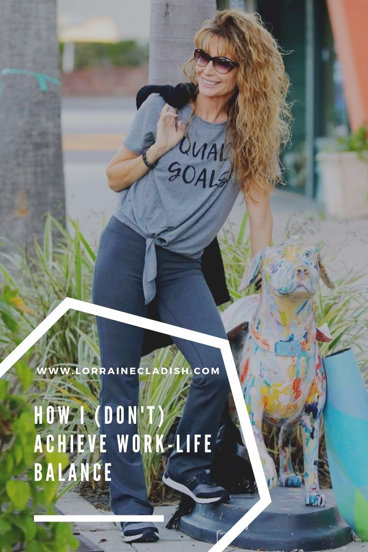 I've always believed work-life balance is a myth, especially for those of us who work from home and/or have kids on top of that. Here's how I make it all flow.  #career #family #blogger