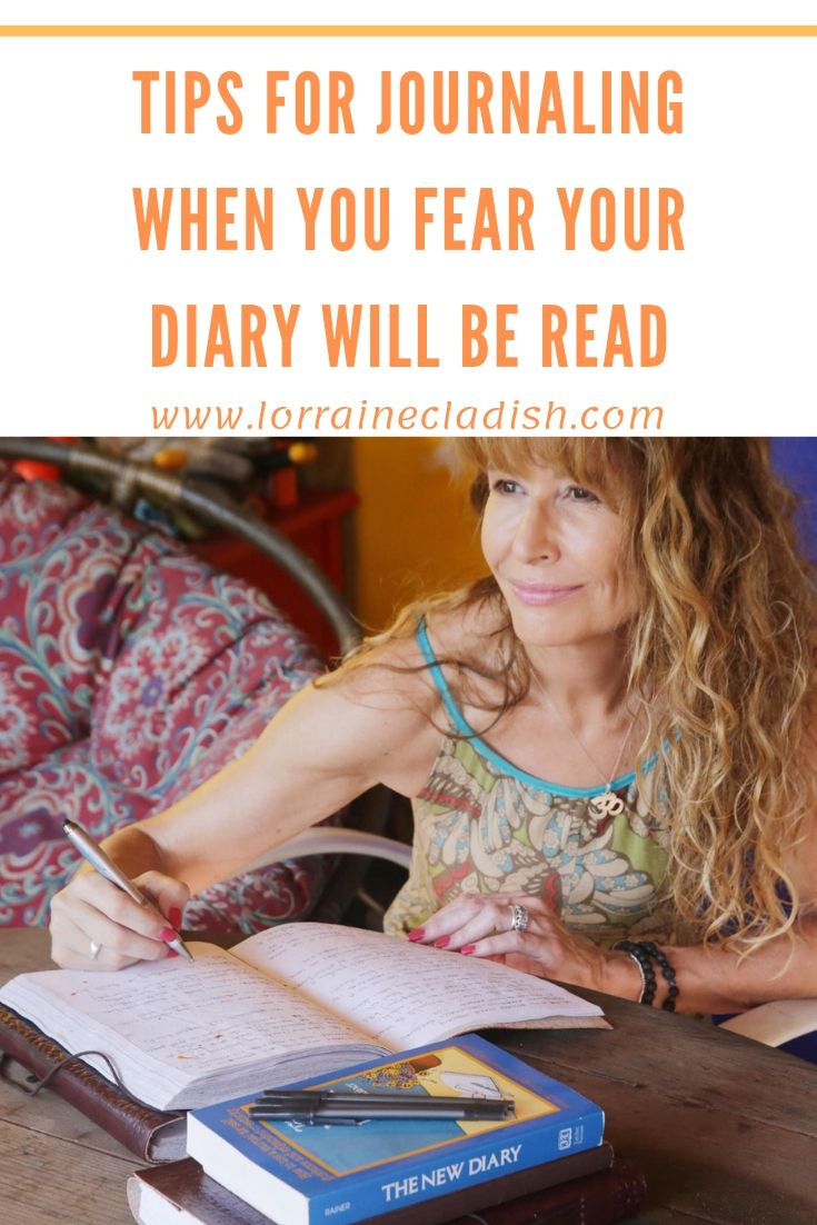 If you love to keep a journal or diary and you fear someone you love may read it, here are three tips to allow you to express yourself without being found out. #journaling #mentalhealth #mindfulness