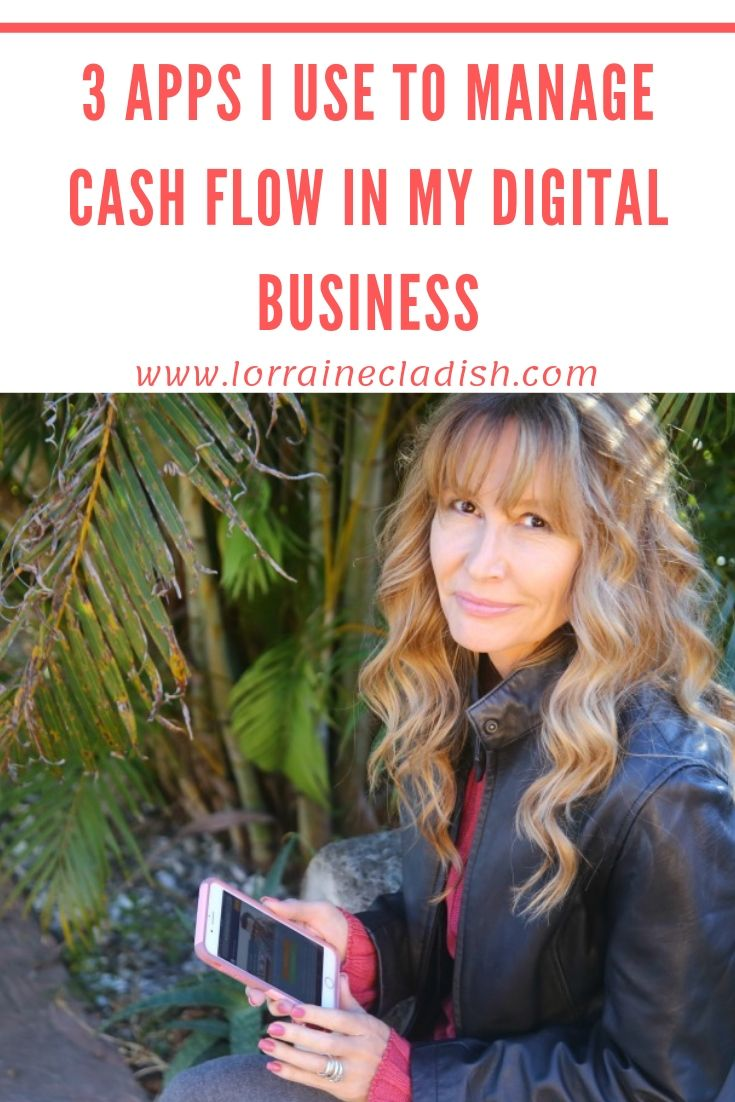 Cash flow is usually an issue for small businesses and freelancers, especially when our income varies from month to month. Here are three apps I use to manage it. #entrepreneur #cashflow #freelancer