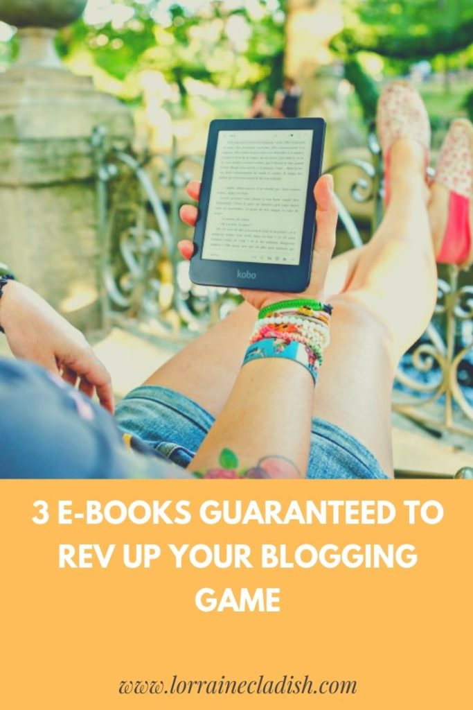 Whether you're starting your blog or have been at it for a while, these three e-books will help you shine on camera, take better pictures and make a profit! #blogging #bloggers #ebooks