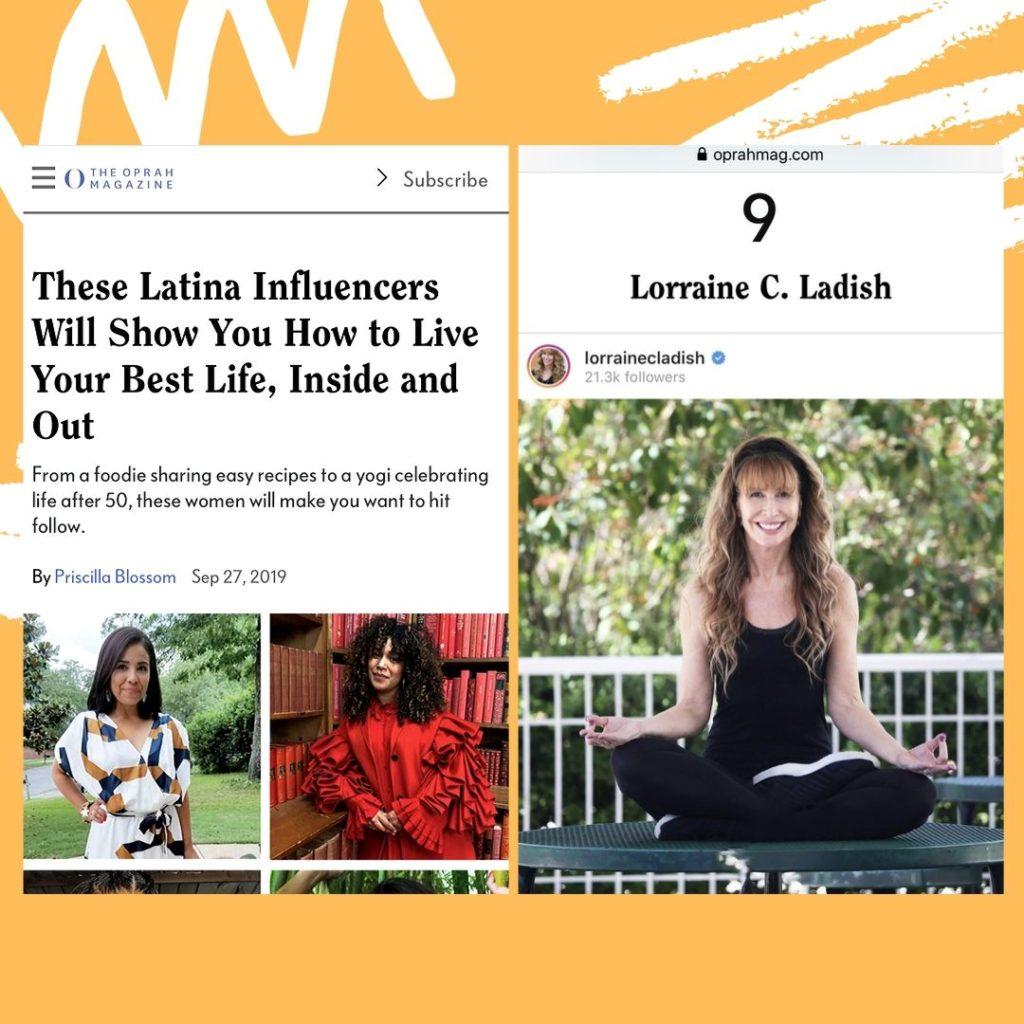 Lorraine C. Ladish on Oprah Mag